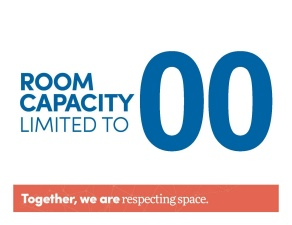 room capacity template.