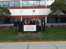 Undergraduate AIChE club members tour 3M Manufacturing Facility