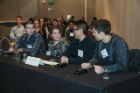 The UB CBE AIChE student chapter competed as one of nine teams in the Jeopardy competition at the Oct 17 Student Conference. Questions covered topics such as Heat & Mass Transfer, Chemical Process Safety, and Biochemical Engineering.