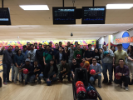 December 2016 bowling party