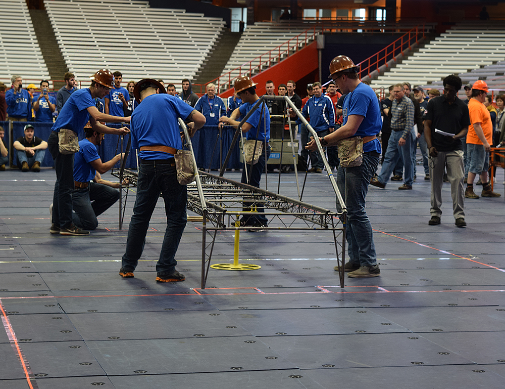 Structural Engineering Team : Ub teams compete in the upstate new york regional asce