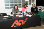 The ACV Auctions delegation at UB Hacking '18, November 3, 2018. Photo credit: Ken Smith