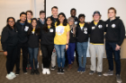 Students gather at UB Hacking '18, November 3, 2018. Photo credit: Ken Smith