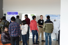Students describe their work at SEAS Student Poster Competition '13, April 3, 2013. Photo credit: Ken Smith