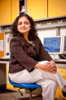 Dr. Bina Ramamurthy in a UB research lab, 2010. Photo credit: Douglas Levere