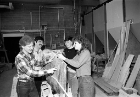 UB-ASCE's concrete canoe team has been making news since the early 1980s. Local TV station WGR-TV interviewed students who were testing their canoe out in Lake LaSalle back in 1981. If you recognize the students or would like to share your memories of the competition, please email us at ub-seas@buffalo.edu.
