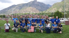 The UB steel bridge team members and advisors, Todd Snyder and John Gast, traveled to Provo, Utah in May to compete in the 2016 National Steel Bridge Competition. The team placed fifth overall.