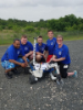 For the fifth year in a row, UB's Space Bulls earned a place in the prestigious NASA and NIA RASC-AL Robo-Ops Planetary Rover Competition. The team's rover navigated the terrain at Johnson Space Center's Rockyard Facility in Houston, while being tele-operated from UB.