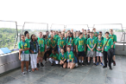 Group photo of students at the Niagara Power Vista.