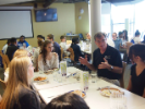 Business etiquette lunch with Susan Makai