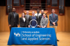 Chemical engineers inducted into the Order of the Engineer.