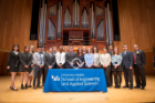 Biomedical engineers inducted into the Order of the Engineer.