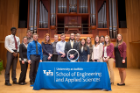 Environmental engineers inducted into the Order of the Engineer.