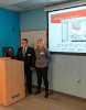 Students present their EAS 199 project.