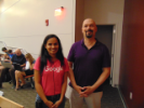 Nisha Chaudhari (left) and Bob Zwolinski (right).