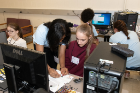 High school girls gained hands-on experience with circuits, programming and more during the first ever CSExplore, a 3-day camp that teaches the fundamentals computer engineering and computer science.