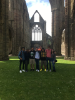 Students visited Tintern Abbey, founded in 1131 on the banks of the River Wye. The visit was part of UB's School of Engineering and Applied Sciences - Swansea Study Abroad program.