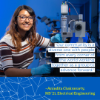 Anindita Chakravarty is graduating with her master's degree in electrical engineering and will be continuing on for her PhD.