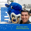 Ercan Sahin is receiving his master's degree in industrial engineering.