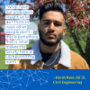 Harsh Patel is graduating with his bachelor's in civil engineering.