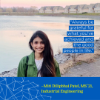 Miti Dilipbhai Patel is graduating with her master's degree in industrial engineering.
