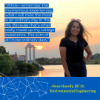 Nour Haredy is graduating with her bachelor's degree in environmental engineering.