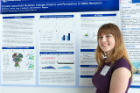 Brittany Sincox studied NMDA receptors in her research project in UB's Summer Undergraduate Research Experience program.