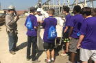 Students also took field trips, including an excursion to National Grid's facility on Dewey Avenue in Buffalo, where they learned about the bucket ladder.