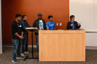 Award winners at 2019 Blockchain Buildathon UB.