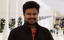 photo of ankit naik.