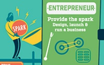 entrepreneurship info-graphic