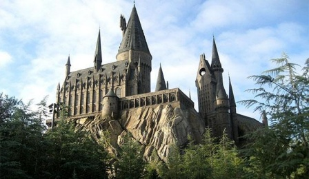 photo of Hogwarts.
