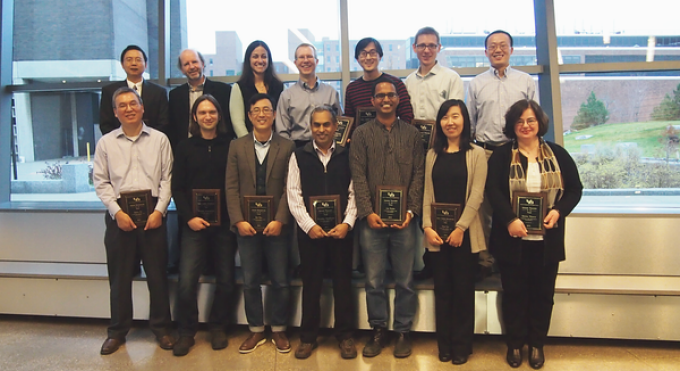 2015 Faculty Award Recipients
