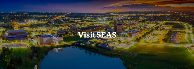 students walking outside Davis Hall.
