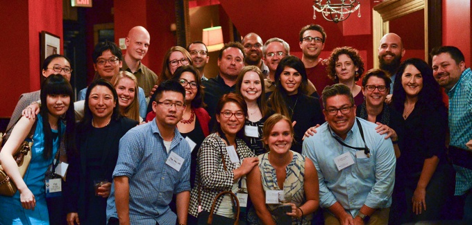 ISE alumni and faculty meeting at Washington, D.C.