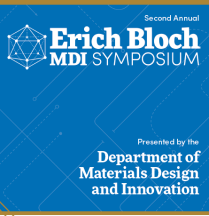 Erich Bloch Symposium Program.