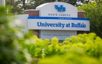 University at buffalo North Campus sign