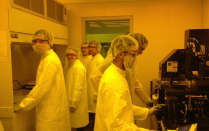 Students in Clean Room