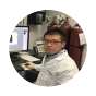 Sun checking his readings.