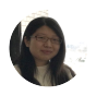 Wenjing Guo in Furnas Hall.