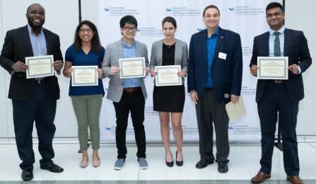 2019 graduate research symposium poster winners.