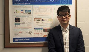 Hien and Poster at AIChE.