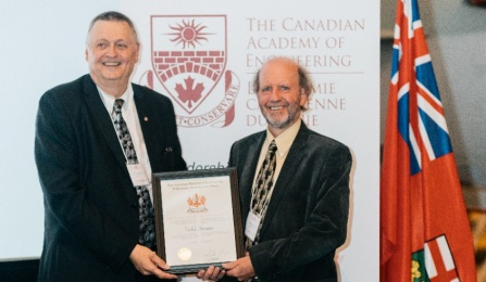 Bruneau receives CAE Fellowship honor