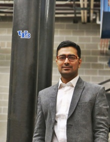 Ketan Ragalwar, a PhD student in Civil Engineering receives research grant.