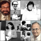 collage of CSE faculty in 1985.