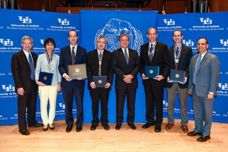 10 SEAS Faculty were honored at UB's Celebration of Faculty and Staff Excellence