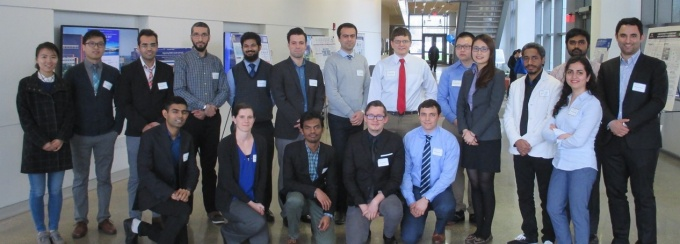 Group photo of participants in the 2017 SEAS Graduate Student Poster Competition.