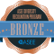 ASEE diversity recognition program bronze level badge.