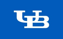 Interlocking UB logo.