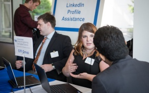 photo from the 2016 CPNC of LinkedIn Profile Assistance table.
